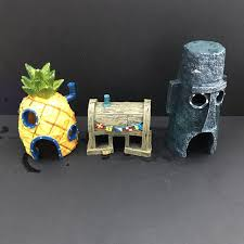 Spongebob Aquarium Decor Set by Cosmicfish U0027s Items For Sale On Carousell