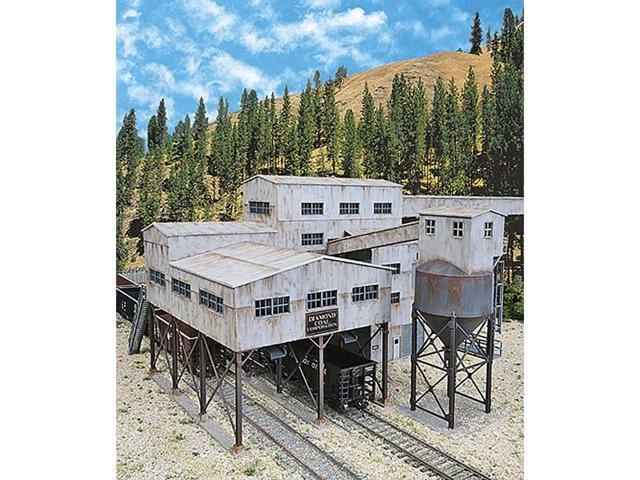Walthers Cornerstone HO Diamond Coal Corporation Structure Kit