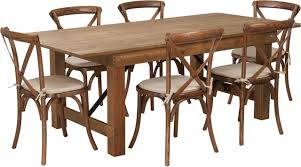 7 Ft Antique Rustic Farm Table Set With 4, 6, Or 8 Cross Back Chairs And  Cushions Timelessly Charming Farmhouse Style Fniture For Your Home Interior Rustic Round Ding Table 6 Ideas 30 House X30 Inch Modern Farm Wood You Kitchen Extraordinary Narrow Room Black Chairs Photos And Pillow Weirdmongercom Hercules Series 8 X 40 Antique Folding Four Bench Set Luxury Affordable Grosvenor Wooden With Gray White Wash Top Classic Base Criss Cross Includes Two Benches E Braun Tables Inc Back Burlap Cushions Amish Sets Etc