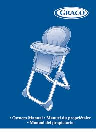 Graco Duodiner High Chair by Graco High Chair 1762131 User Guide Manualsonline Com