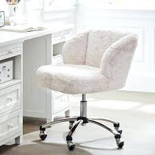Pink Fluffy Desk Chair Polar Bear Student Target