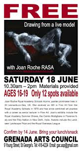 100 Roche2 FREE Life Drawing Session With Joan Roche RASA Grenada Arts