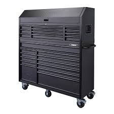 Husky 56 In. 23-Drawer Tool Chest And Rolling Cabinet Set 18 Ga ...