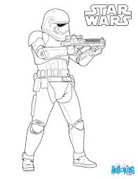 Stormtrooper Of The First Order Coloring Page