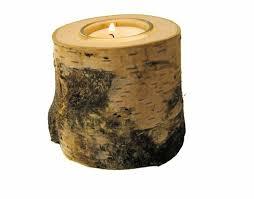 deco tronc d arbre meubles design bougeoire tronc d arbre deco originale