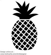 Elegant Outline Picture Pineapple 25 Unique Pineapple Vector