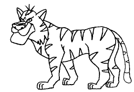 Coloring Pages Jungle Animals