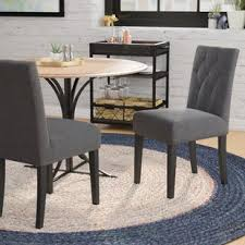 Balas Upholstered Dining Side Chair Set Of 2 By Mercury Row Coupon