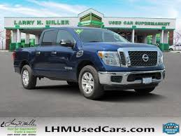 Pre-Owned 2017 Nissan Titan SV Crew Cab Pickup In Murray #B4230 ...