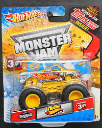 100 Team Hot Wheels Monster Truck HOT WHEELS MONSTER JAM TEAM HOT WHEELS TOPPS TRADING CARD GRAVE