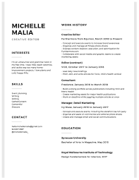 Resume — MICHELLE MALIA Harold Treen Resume 17 Best Skills Examples That Will Win More Jobs Karat Seed Productions Seattle Rumes On Twitter We Love Nerds Thanks For 100 Cversations Career Success By Magicmarket Issuu C James Bye Simple Yet Unique Enough To Catch The Eye Employment Nerd Geek Lab Top 10 Free Builder Online Reviews Jobscan Blog Resume Michelle Malia Pin Fdesign Cv Template Guaranteed Get
