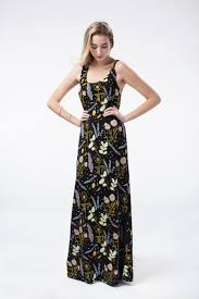desert floral u0027 maxi dress in pale pink blue mint and yellow ochre