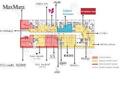 Fashion Walk Main Block Floor Plan
