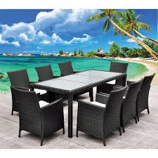 tables de jardin en resine table exterieur resine tressee salon de jardin resine promo