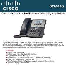 Cisco SPA512G 2-Port Gigabit PoE LCD Display IP Phone For Business ... Cisco 7940g Telephone Review Systemsxchange Linksys Spa921 Ip Refurbished Looks New Cp7962g 7962g 6 Button Sccp Voip Poe Phone Stand Handset Unified Conference 8831 Phone English Tlphonie Montral Medwave Optique Amazoncom Polycom Cx3000 For Microsoft Lync Cp8831 Ip Base W Control Unit T3 Spa 303 3line Electronics 2line Cp7940grf Phones Panasonic Desktop Versature Grandstream Gac2500 Audio Warehouse