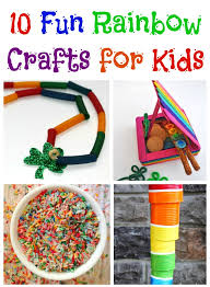 10 Fun Rainbow Crafts For Kids