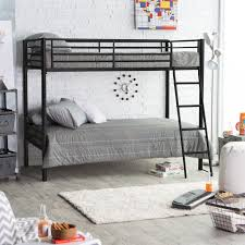 Low To The Ground Bunk Beds by Duro Wesley Twin Over Full Bunk Bed Silver Hayneedle