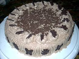 nougat sahne torte