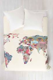 World Map Duvet Cover from Urban Outfitters FaveThing