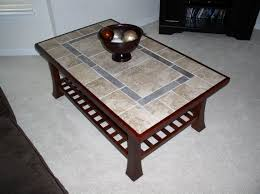 coffee table attractive tile top coffee table ideas attractive