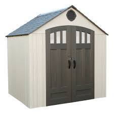 Arrow Woodridge Steel Storage Sheds by Arrow Woodridge Steel Storage Shed 8 X 6 Feet The Home Depot Canada