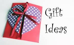 DIY Envelope Paper Heart Card Gift