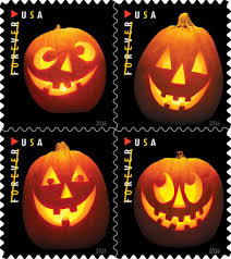 Jack And Sally Pumpkin Stencil Free by U S Postal Service Unveils New Halloween Themed Stamps For 2016
