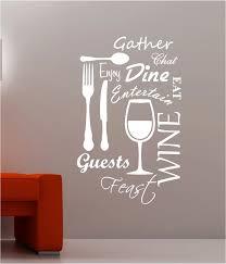 küche wort wolke vinyl wandtattoo esszimmer lebensmittel wein gabel tasse messer blumen dekor wandkunst wand aufkleber abziehbild restaurant home