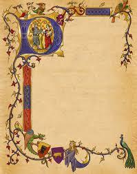 Medieval Invite Illumination Wedding Background Download