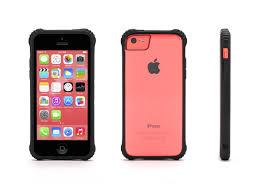 Griffin Black Survivor Core Clear Protective Case for iPhone 5c