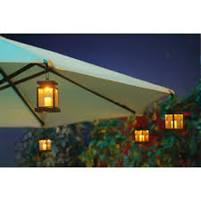 Solar Lighted Rectangular Patio Umbrella by Solar Lights For Patio Umbrellas Niavisdesign