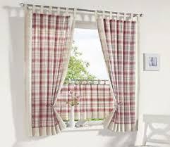 karierte gardinen vorhänge im landhaus stil fürs