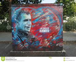 100 C215 Art Street Ist S Tribute To Ahmed Merabet Editorial Photography