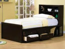 Brusali Bed Frame by Full Size Tall Platform Bed 12 Drawers Headboard Full Bed Frame