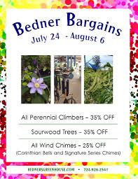 100 Bedner Bargains Thru 86 S Farm And Greenhouse