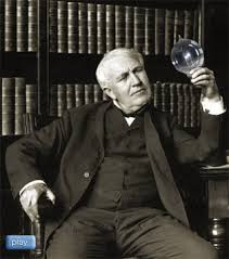 light bulb edison invented the light bulb electric bulb