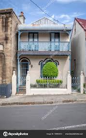 100 Sydney Terrace House View Typical Australia Stock Photo Magann