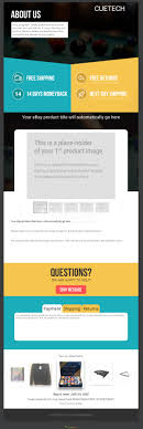 Customise An Amazing Ebay Listing Template In Crazy Lister By Studio8ight
