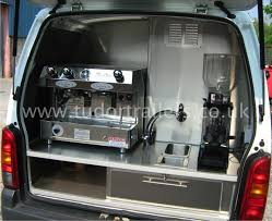Small Coffee Van Conversion