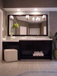 Modern Master Bathroom Vanities by Bathroom Master Bath In Luxury Home With Windowed Shower Stock