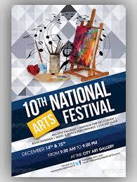 Arts Festival Event Flyer Template