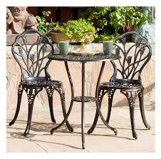 Amazon.com: Classic Tulip Cast Aluminum Outdoor Patio 3 ... Outdoor Chairs Set Of 2 Black Cast Alinum Patio Ding Swivel Arm Chair New Elisabeth Cast Alinum Outdoor Patio 9pc Set 8ding Details About Oakland Living Victoria Aged Marumi In 2019 Armchair Cologne Set Gold Palm Tree Outdoor Chairs Theradmmycom Allinum Fniture A Guide Alinium Rst Brands Astoria Club With Lawn Garden Stools Bar Modway