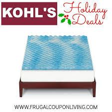 the big one gel memory foam mattress topper only 22 99