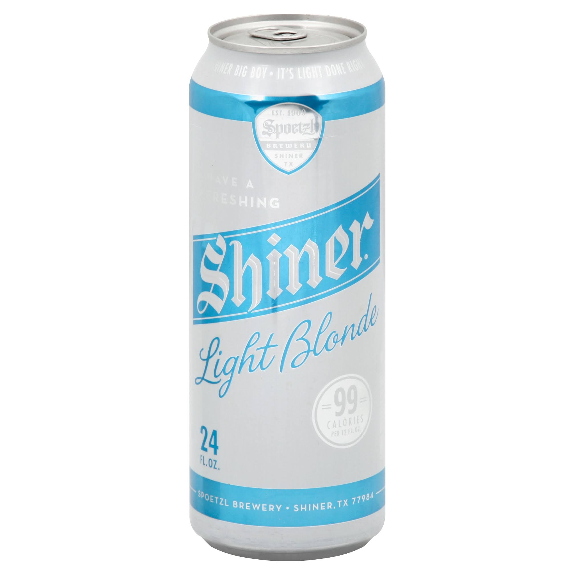 Spoetzl Brewery Beer, Shiner Light Blonde - 24 fl oz