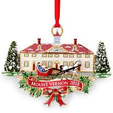 Mount Vernon 2018 Annual Ornament The Shops At Mount Vernon