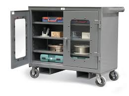 Equipto Modular Drawer Cabinets by Clear View Mobile Work Cart With Forklift Pockets Heavy Duty