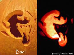 Easy Pokemon Pumpkin Carving Patterns boo pumpkin by afina79 on deviantart
