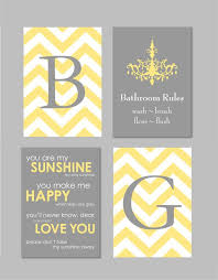 Yellow And Grey Bathroom Accessories Uk by Yellow And Grey Bathroom Accessories House Decorations