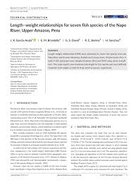 amazonia si e social freshwater fishes of the amazon river pdf available