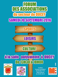 bureau des associations forum des associations à ducey rdv 10 septembre 2016 le de